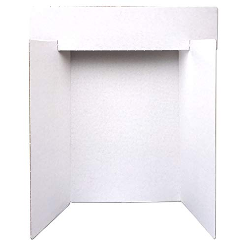 (ArtSkills Corrugate Trifold Display Board With Header, 36