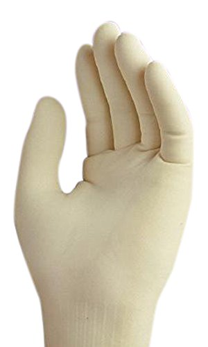 Cardinal Health 2Y72N6 Protegrity CP Powder-Free Latex Cleanroom Glove, 8.5 Size 28'' Length 10.5'' Width (Pack of 200) by Cardinal Health (Image #1)