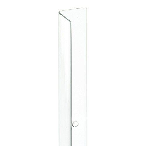 Wall Guard - Prime-Line Products U 9129-4 Corner Shield, 3/4 In. x 48 In, Vinyl, Clear, Pack of 4