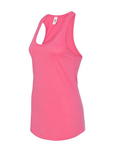 Next Level Apparel Women's The Ideal Quality Tear Away Tank Top, Hot Pink, XX-Large