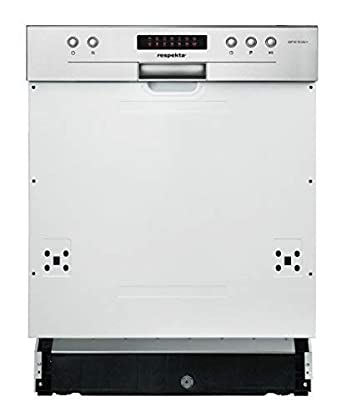 Respekta Einbau Geschirrspüler Spülmaschine 60 Cm Teilintegriert Led