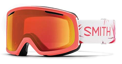 Smith Optics Womens Riot Snow Goggles Sunburst Zen Frame/ChromaPop Everyday Red Mirror/Yellow
