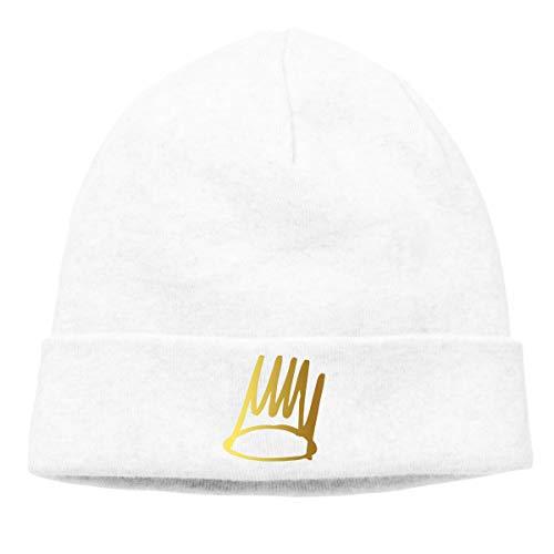d39643eb67373 Saman Arion Soft Beanie J Cole Born Sinner Hat Warm Knit Hats Unisex Skull  Cap White