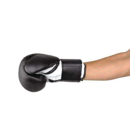 KWON Boxhandschuhe Fitness, schwarz, 16oz, 4002416