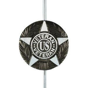 Annin Flagmakers 601706 Grave Marker-Aluminum General Military for all U.S. Veterans For Sale