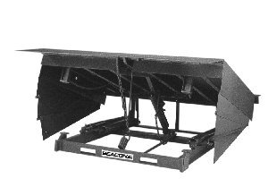 Beacon-Mechanical-Dock-Leveler-with-Hinged-Lip-Width-83-Height-24-Length-10-Capacity-40000-Model-BM571040