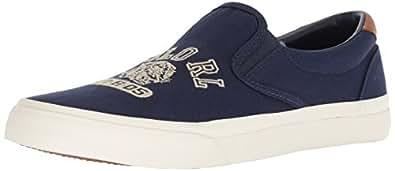 Polo Ralph Lauren Thompson Sneaker, Men's Men Shoes, Multicolour (Newport Navy), 10.5 UK (44.5 EU) (816713141001)