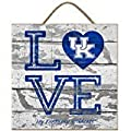 Kentucky Wildcats Love My Team - 12x12 inch