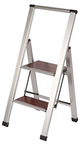 Sensational Two Step Stool Heavy Duty Folding Lightweight Ladder With Machost Co Dining Chair Design Ideas Machostcouk