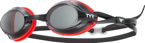 (TYR Velocity Racing Goggle (Smoke))