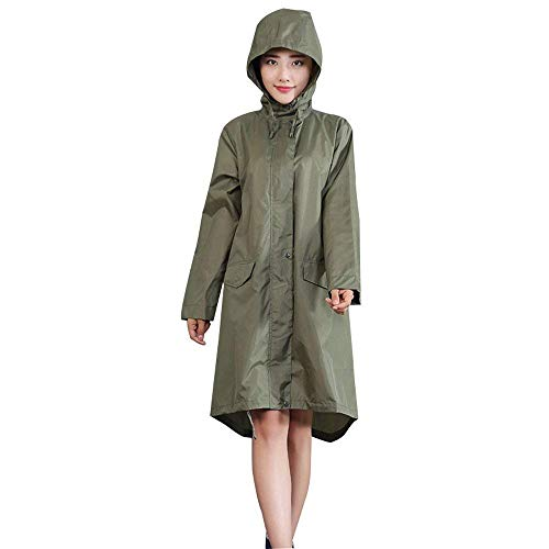 Femmes Randonnée Poncho Elodiey Imperméable Long Respirant Siamois Green2 20 Mode OnfHfx5qAw