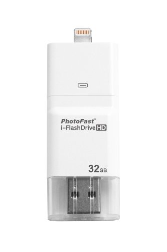 i-FlashDrive HD 32GB with dual storage between iOS and Mac/PC - Apple licensed for iPod/iPhone/iPad (Lightning/30-pin) by PhotoFast (Image #6)