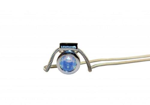 MELANO Pierre interchangeables Bijoux The One Argent Oxyde de Zirconium Pendentif Pierre de Lune