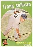 1959 Topps Regular (Baseball) Card# 323 Frank Sullivan of the Boston Red Sox VGX Condition