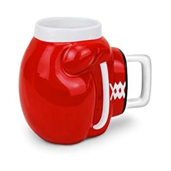 BigMouth Inc The Knockout Mug, Red