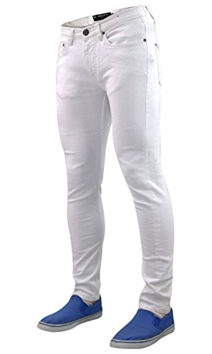 nbsp;– Aderenti Series Seven Dritti Da nbsp;jeans 7 Bianco Designer Uomo Elasticizzati qZqdwzpt