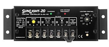 Morningstar SL-20L-12V SunLight 20 Amp Charge Controller LVD by Morningstar