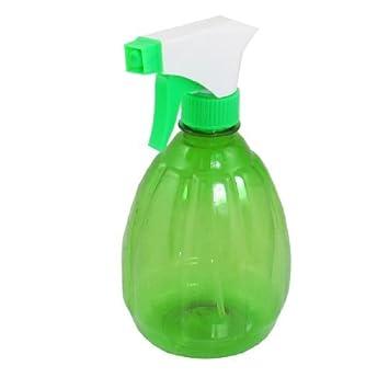 Botella de 500 ml eDealMax Claro Verde Blanco gatillo agua Rociador Rociar