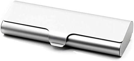 BZM-ZM メガネ収納ボックスディスプレイキャビネットサングラスボックスポリゴンアルミ合金のメガネケースクリエイティブパーソナリティメガネケース省スペースミラーボックスシルバーエレガンス
