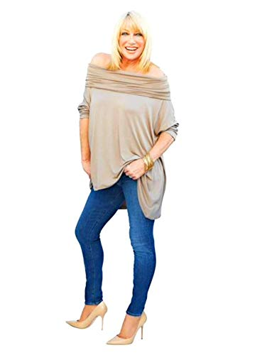 Suzanne Somers As seen on TV 3 Way Poncho Beige