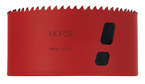 "MK Morse MHS72 Bi-Metal Hole Saw, 4-1/2"" Diameter"