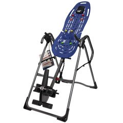 Teeter EP-960 LTD Inversion Table, 3rd-Party Safety Certified, Precision Engineering, with Extended Ankle Lock Handle and Better Back - 3rd Bearing Support