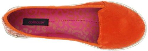 Dollhouse Womens Impulsive Loafer Tangerine 2bhLNfXp
