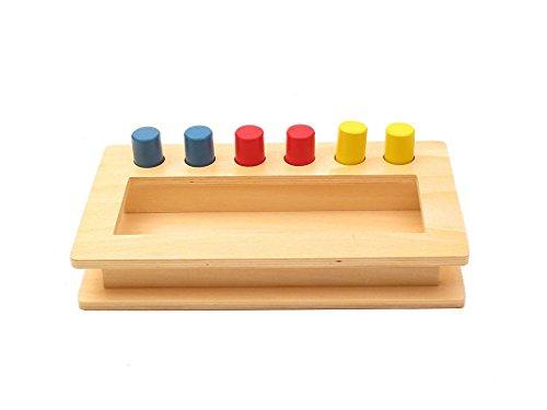 Montessori Toddler Imbucare Peg Box ()