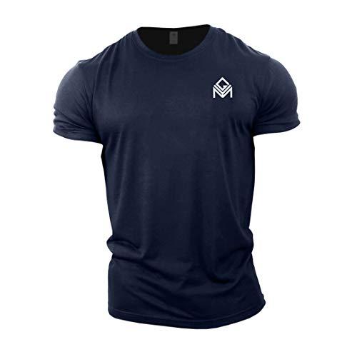 GYMTIER Gym T-Shirt | Mens Bodybuilding Training Top Clothing Plain