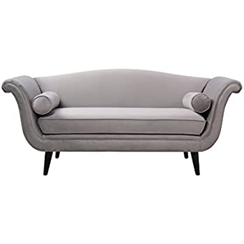 Amazon.com: Wilson Home de arena, chaise longue, terciopelo ...