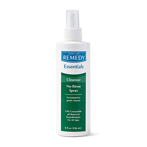 Remedy Essentials No-Rinse Cleansing Spray - 8oz - Pack of 3