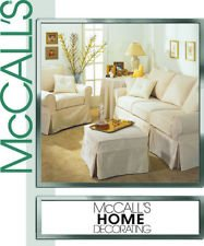McCall's Pattern #3278 ***HOME DECORATING*** COVER ESSENTIALS