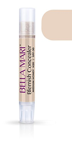 Medium Blemish Concealer (Bella Mari Natural Blemish Concealer Stick, Medium Honey; 0.1floz)