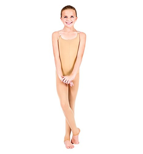 Body Wrappers A91 Womens Total Stretch Convertible Body Tights (Small/Medium, Jazzy Tan) (Tight Body)