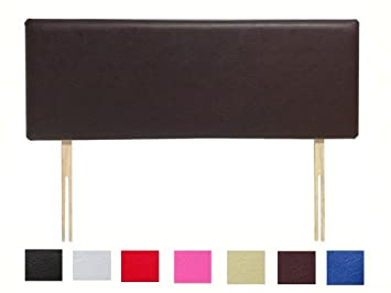 WHITE Fast Delivery NICE HEADBOARDS Quality Hand-made Single 3Ft Headboard in Faux Leather