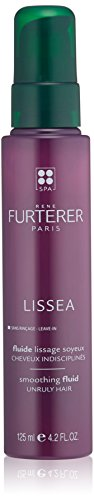 Rene Furterer LISSEA Leave-in Smoothing Fluid, Unruly Frizzy Hair, Humidity Heat Protection, 4.2 oz.