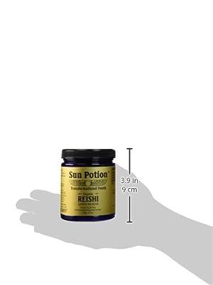Organic Reishi Mushroom Powder - 111g Jar from Sun Potion