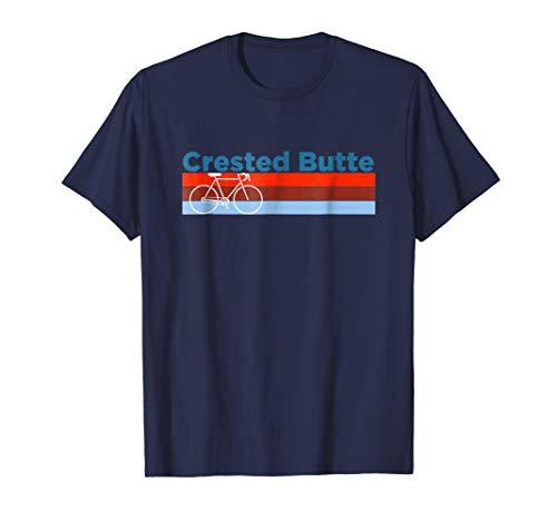 Retro Bike - Crested Butte Colorado T Shirt