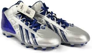 Adidas Crasseux Rapide Milieu D Football Taquet Taille 12 Bleu