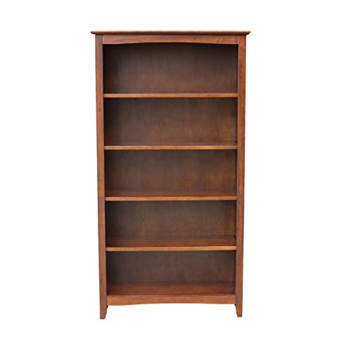 International Concepts Shaker Bookcase, 60-Inch