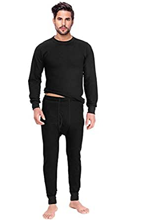 Rocky Men's Thermal 2pc Set Long John Underwear at Amazon Men's ...