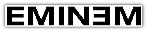 Eminem Car Bumper Sticker Decal 8'' x (1' Wall Bumper)