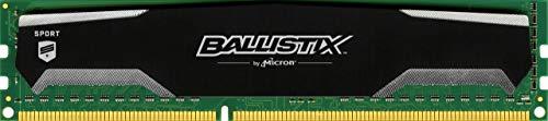 - Ballistix Sport 4GB Single DDR3 1600 MT/s (PC3-12800) UDIMM 240-Pin Memory - BLS4G3D1609DS1S00