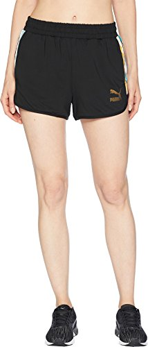 PUMA Women's PUMA x Coogi Shorts Puma Black Large 2.5