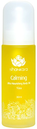 Price comparison product image Shankara Calming Body Oil - Relaxing & Nourishing Massage Oil - Ayurvedic, Herbal Daily Moisturizer - pH Balanced, Rich in Essential Oils, Vitamins & Antioxidants - Suits All Skin Types - 30 ml