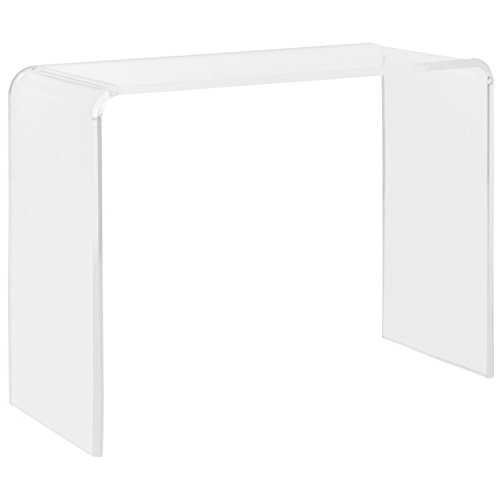 Safavieh FOX6016A Home Collection Atka Console Table, Clear for $<!--$337.44-->