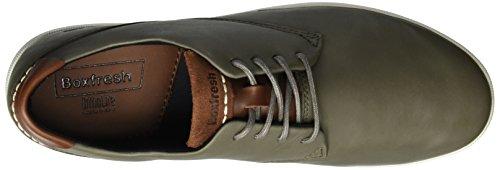 Boxfresh Henning Ch Lea Med Gry, Sneaker Uomo Grigio (Grigio)