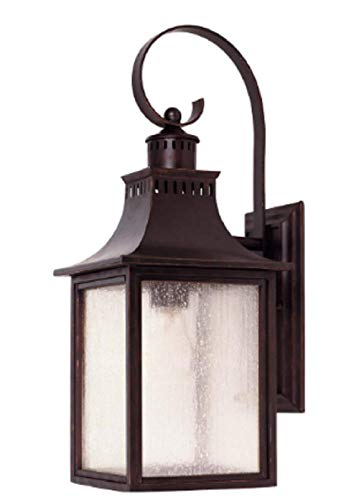 - Monte Grande 1 Light 18 inch English Bronze Outdoor Wall Lantern Scrolls Lighting Collection CHOOSEandBUY
