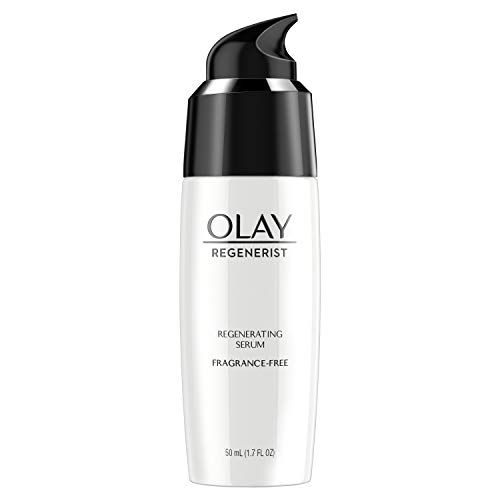 Face Moisturizer by Olay, Regenerist Fragrance Free Light Gel Regenerating Serum, 1.7 fl oz ()