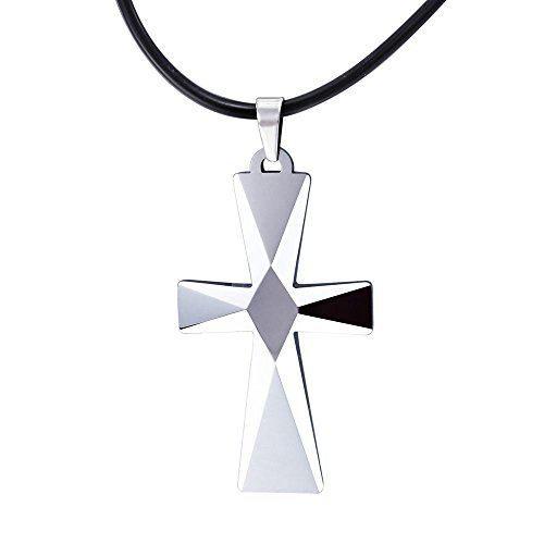 Nelson kent the best amazon price in savemoney nelson kent tungsten cross pendant chain necklace for men aloadofball Image collections